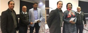 Winners of FMD prizes at SADTA Conference May…